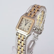 Cartier Panthere Steel&Gold Medium size 2 row