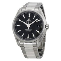 Omega Aqua Terra Automatic Chronometer Black Dial Stainless...