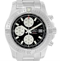 Breitling Colt Automatic Chronograph Black Dial Watch A13388...