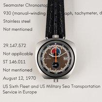 Omega SEAMASTER BULLHEAD CHRONOGRAPH  DELIVERED TO US NAVAL...