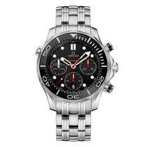 Omega Seamaster Steel Black Dial 212.30.44.50.01.001 Mens watch