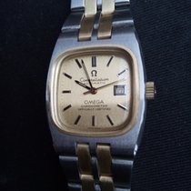 Omega Constellation 70's Ladies Automatic SS/14k Gold NOS