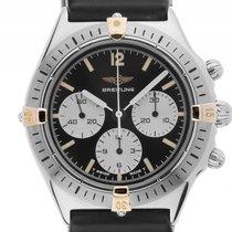 Breitling Callisto Stahl Gelbgold Handaufzug Chronograph...