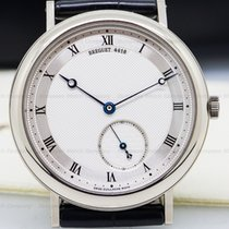 Breguet 5140bb/12/9w6 Classique 40mm in White Gold - on Black...