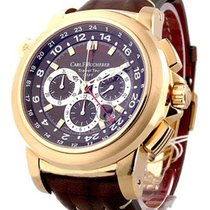 Carl F. Bucherer Carl F.  Patravi Traveltec GMT in Rose Gold