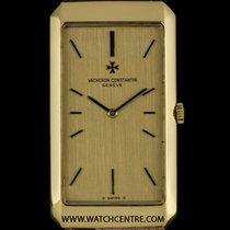 Vacheron Constantin 18k Yellow Gold Rectangle Vintage Gents 35207