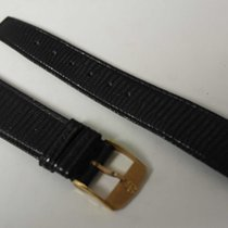 Girard Perregaux vintage strap black newoldstock mm 18 with...