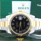 Rolex Datejust II 2Tone Gold/Steel 41MM Mens Watch 116333