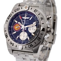 Breitling Chronomat 44 GMT Patrouille de Suisse in Steel 50TH...