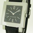 Bulgari Wunderschöne  Quadrato Unisex Armbanduhr