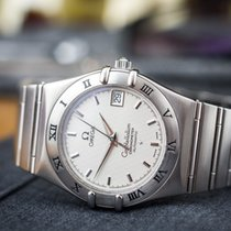 Omega Constellation Automatic COSC Steel