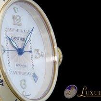 Cartier Pasha 38 Date 18kt Gelbgold mit Faltschliesse  ...