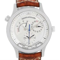 Jaeger-LeCoultre Master Geographic Steel Mens Watch 142.8.92