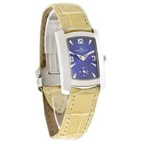 Baume & Mercier Baume  Hampton Milleis Ladies Yellow Strap...