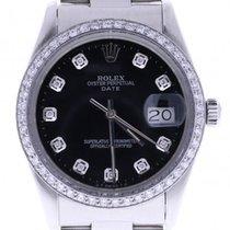 Rolex Date Automatic-self-wind Mens Watch 15000 (certified...