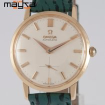 Omega Automatic Yellow Gold 18K 1958 34mm 2897 S.C Caliber 491
