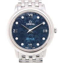 Omega De Ville Stainless Steel Blue Quartz 424.10.27.60.53.003