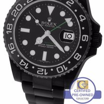 Rolex GMT-Master II Stainless Black PVD Ceramic 116710 N LN 40mm