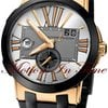 Ulysse Nardin EXECUTIVE DUAL TIME GMT ROSE GOLD 43mm SILVER...