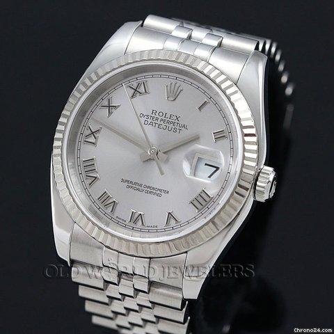 Rolex SS/WG DATEJUST
