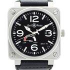 Bell & Ross Aviation Reserve De Marche Black Dial Mens Watch