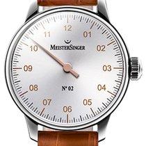 Meistersinger N 02 43mm Silver Dial - AM 6601G
