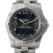 Breitling Aerospace Avantage Titanium 42mm Black Dial