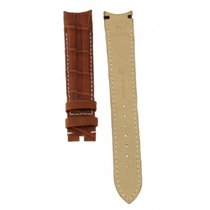 Omega Brown Crocodile Leather Strap 18-16mm