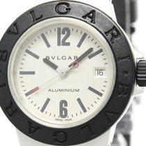 Bulgari Aluminium Rubber Quartz Ladies Watch Al29a (bf106878)