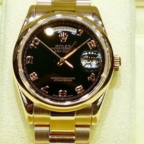 Rolex Day date 36mm everose gold domed bezel