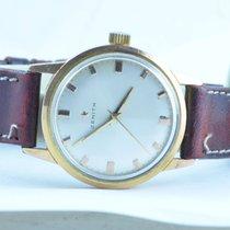 Zenith Herren Uhr Handaufzug 34mm Vergoldet Rar