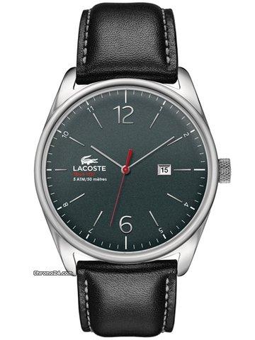 Lacoste Austin 2010694 Herrenuhr grau schwarz 43 mm
