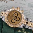Rolex Daytona Champagne Stick SS / 18K Yellow Gold