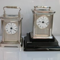 L'Epée Officer  DUE Table Clocks
