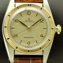 Rolex Bubble Back Ref.5050 Steel and Gold, Made in 1950