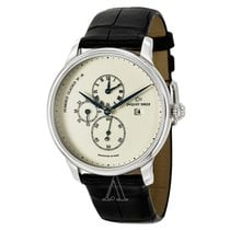 Jaquet-Droz Majestic Beijing Time Zone in Platinuim - on Strap...