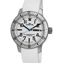 Fortis Aquatis Diver White Day/date Wr 200m Automatic Watch...