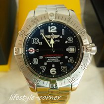 Breitling SuperOcean A17360 mit Professional II Band (Box...