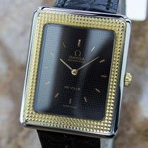 Omega Deville Swiss Made Automatic Gold Bezel Stainless St...