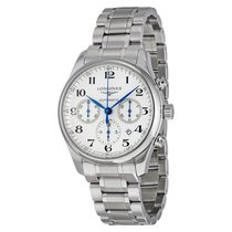 Longines Master Collection Automatic Chronograph White Dial...