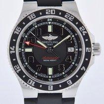 Breitling SUPEROCEAN GMT - SERVICED 2 YEAR FELDMAR WATCH...