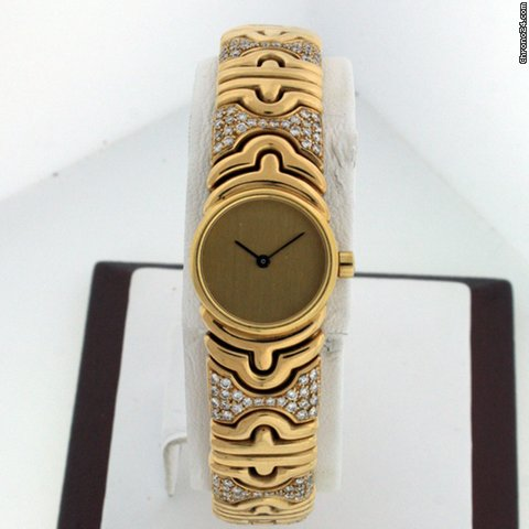 Bulgari Classic Torsion Bangle Ladies BJ 01 Pre-owned