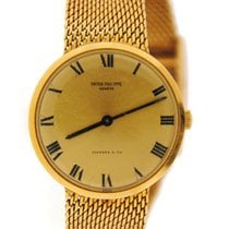 Patek Philippe Calatrava Tiffany & Co Dial 18K Yellow Gold