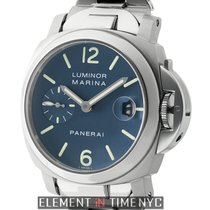 Panerai Luminor Collection Luminor Marina 40mm Steel Blue Dial...