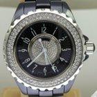 Chanel J12 - Black Ceramic / Diamond