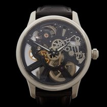 Maurice Lacroix Masterpiece Squelette Stainless Steel Gents...