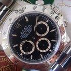 Rolex 1996 T SERIAL ROLEX BLACK DAYTONA ZENITH TAGS & PAPERS