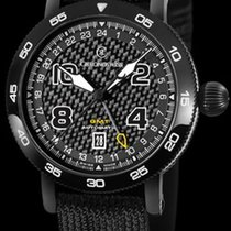 Chronoswiss TIMEMASTER GMT CARBON - 100 % NEW - FREE SHIPPING