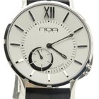 N.O.A Noa Slim Watch 18.60 Mslq-002 White Index 40mm  W/ Box...