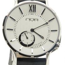 N.O.A Noa Slim Watch 18.60 Mslq-002 White Index 40mm  W/ Box...